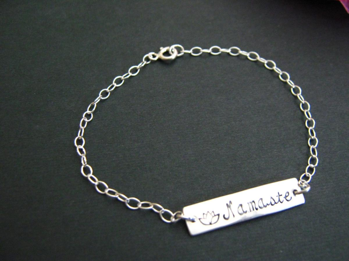 coins sterling silver sari names bracelet products personalized